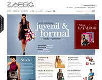 Zafiro Handbags website