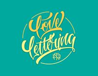 Colección de lettering.