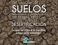 Banners Día Mundial de la conservación del Suelo