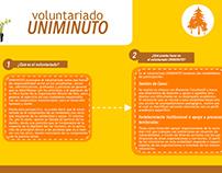 Banner para Facebook Voluntariado Uniminuto