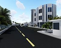 Anteproyecto arquitectónico para showroom y galpones