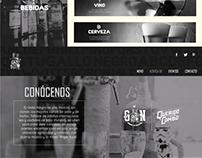 Diseño Pagina Web de Gallo Negro, Guatemala
