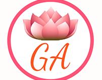 Diseño de logo Estética Guadalupe Aguirre