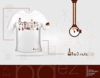 """Diseño para franelas """"Franquicia The Donuts Labs"""""""