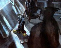 Illustration for Edgar Allan Poe's The Raven