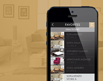 Furniture Catalog App Design Concept