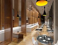 Diseño Buffet NH Iquique
