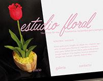 Estudio floral web
