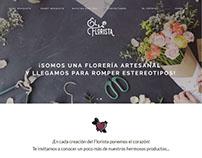 Desarrollo de sitio web ecommerce elflorista.cl