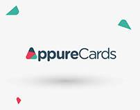 Criação de Logotipo Appure Cards