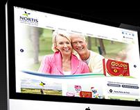 Web Design Nortis Farmacêutica - 2012