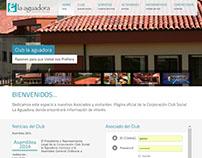 Club la Aguadora - Desarrollo y Diseño WEB