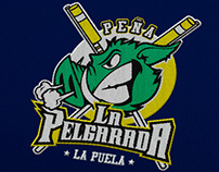 Peña's pelgarada. Logo American style youth association