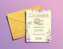 Chá de Casa Nova: Convite