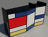 Mueble Mondrian