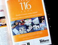Grupo Tiliform - Anúncio