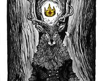 InkTober 2016 - monsters of Mortesen