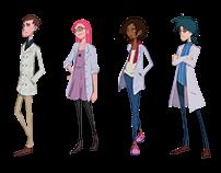 Character Design of Vetor