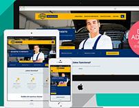 Landing Page hispanomotors.com/repuestos Responsive Web