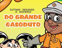Dutinho's comics for Construcap Group (Brazil)