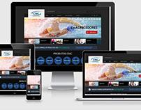 CNC Suplementos - Site feito em Wordpress.