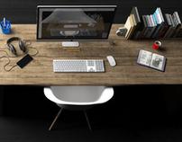 Desk render