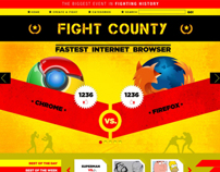 FightCounty.com (Website + Admin)
