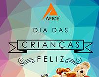 Campanha dia das Crianças Feliz - Ápice