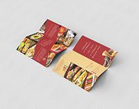 Folder Institucional Restaurante