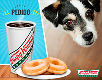 Krispy Kreme & Dog Love