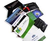 Cartões . Banners . Panfletos . Folders