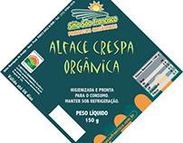Rótulos para produtos orgânicos Sítio São Francisco