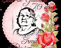 Culto de gratidão da minha avó