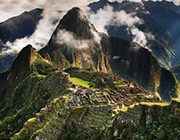 Machu Picchu in the sky