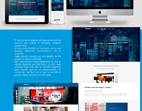Diseño web Sencillo Ofidiex