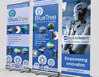 Roll-Up banners for Nordic IT Companies