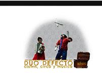 Duo Defecto's website