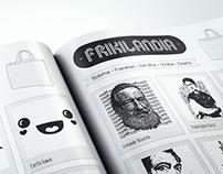 Catálogo de estampados para @Frikkilandia