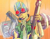 Cyberpunk Shooter