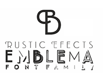 Emblema Font Family