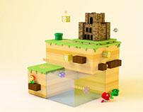 Mario Castle Fan Art