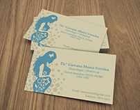 Obstetrics business card