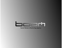 Boom Logo realized for a Marketing Agency