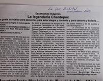 La legendaria Chantepec. Texto publicado
