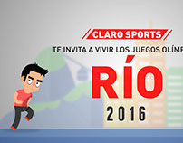 Vídeo animado para Claro Sports COLOMBIA