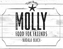 Logo y Piezas Gráficas para MOLLY