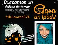 Campaña Concurso Halloween BVA Export