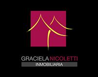 Identidad Visual para Graciela Nicoletti Inmobiliaria