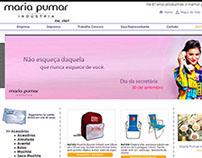 Banner Dia da secretária - Maria Pumar Indústria