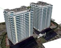 Edifícios em São Conrado - Google Earth